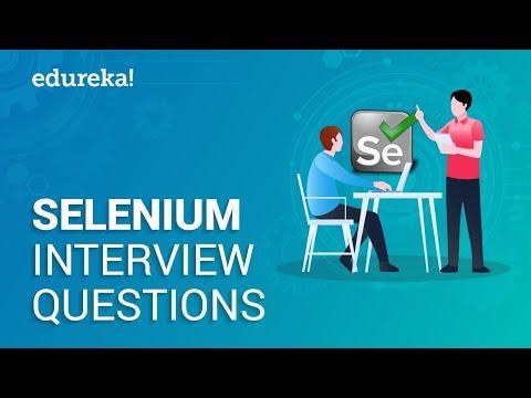 Selenium Interview Questions and Answers | Selenium Tutorial | Selenium Training | Edureka