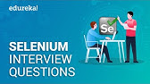 Selenium Interview Questions with Answers - Rahul Shetty