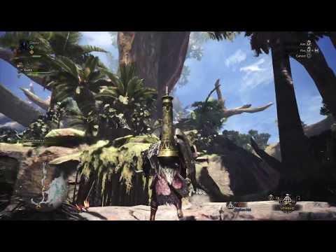Monster Hunter: World Beta Ancient Forest Exploration 1 pt1