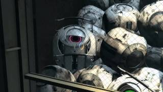 The ending of portal 2 (extra space core!) 1080p HD