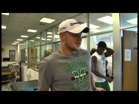 Day in the Life Ryan Yurachek Marshall Football