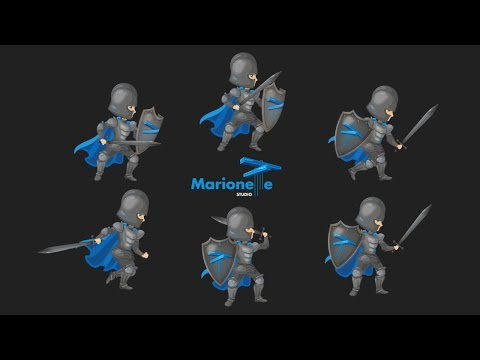 MarionetteStudio: Online 2D animation studio for games