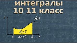 ИНТЕГРАЛЫ с нуля алгебра 10 11 класс