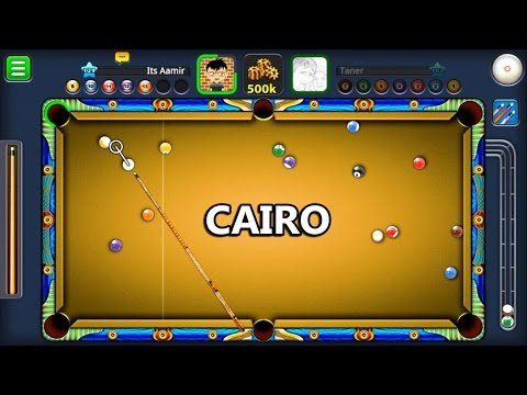 8 Ball Pool- Cairo Kasbah 250K w/Potter Cue (No Guidelines)
