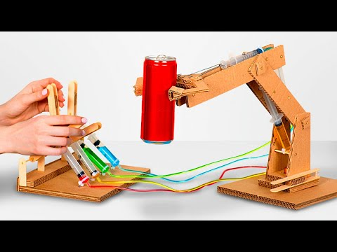 How to make a robot arm out of cardboard