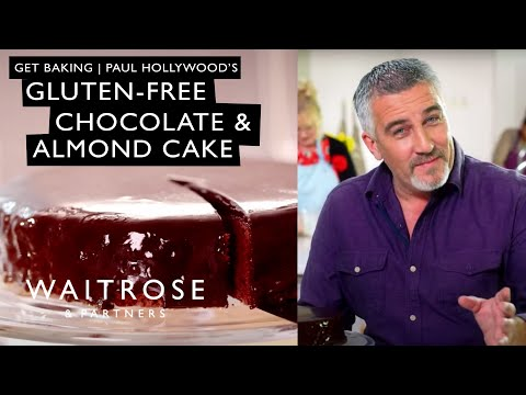 Get Baking with Paul Hollywood | Gluten-free Chocolate and Almond Cake | Waitrose