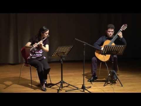 Mauro Giuliani: Grand duo concertant pour flûte ou violon et guitarre, op. 85