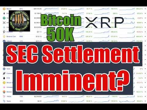 Ripple SEC Settlement , Bitcoin $50K & XRP Buying In Private?