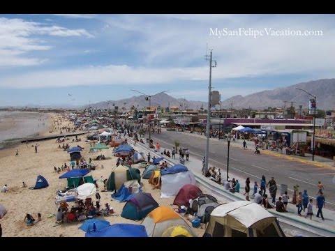 Malecon In San Felipe Baja California Mexico