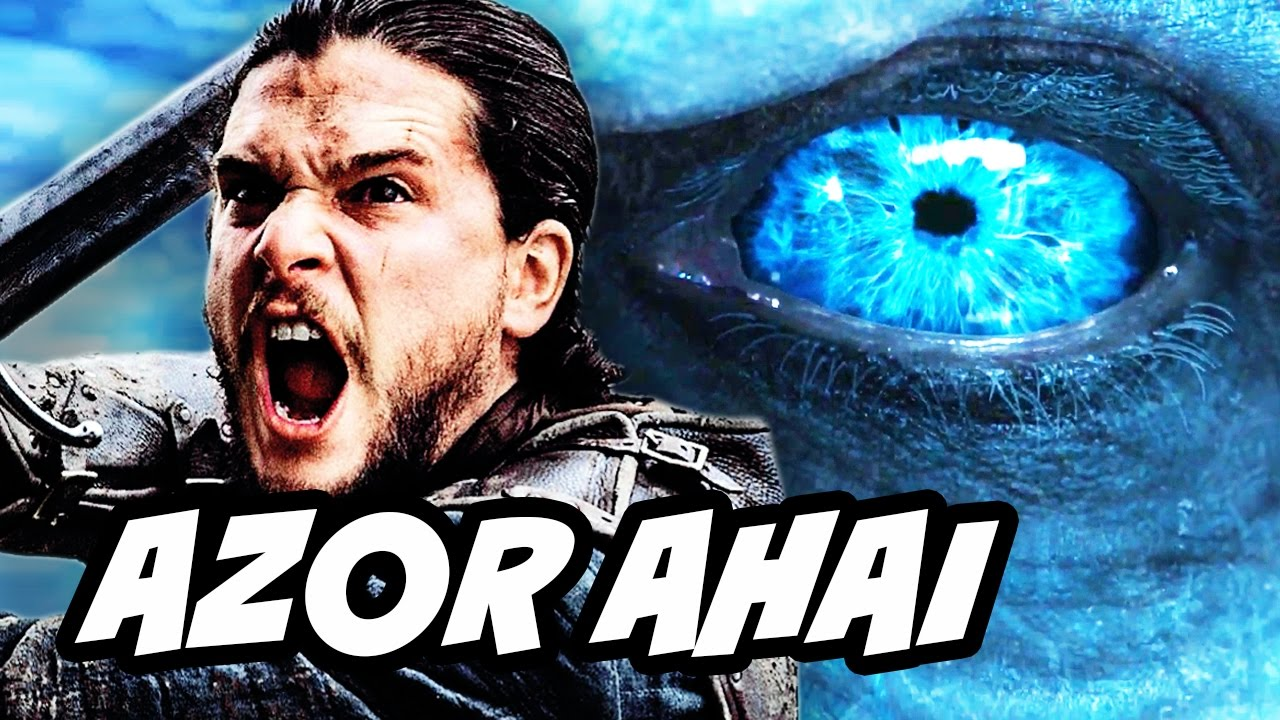 Game Of Thrones Season 7 Azor Ahai Preview and Prince Who Was Promised  Explained - YouTube