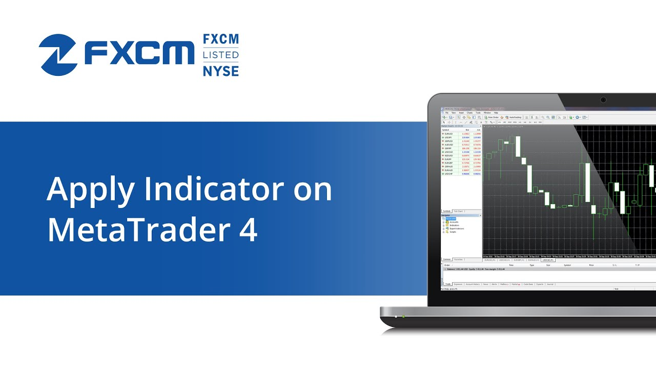 Apply Indicator On Metatrader 4 Fxcm Technical Support Youtube