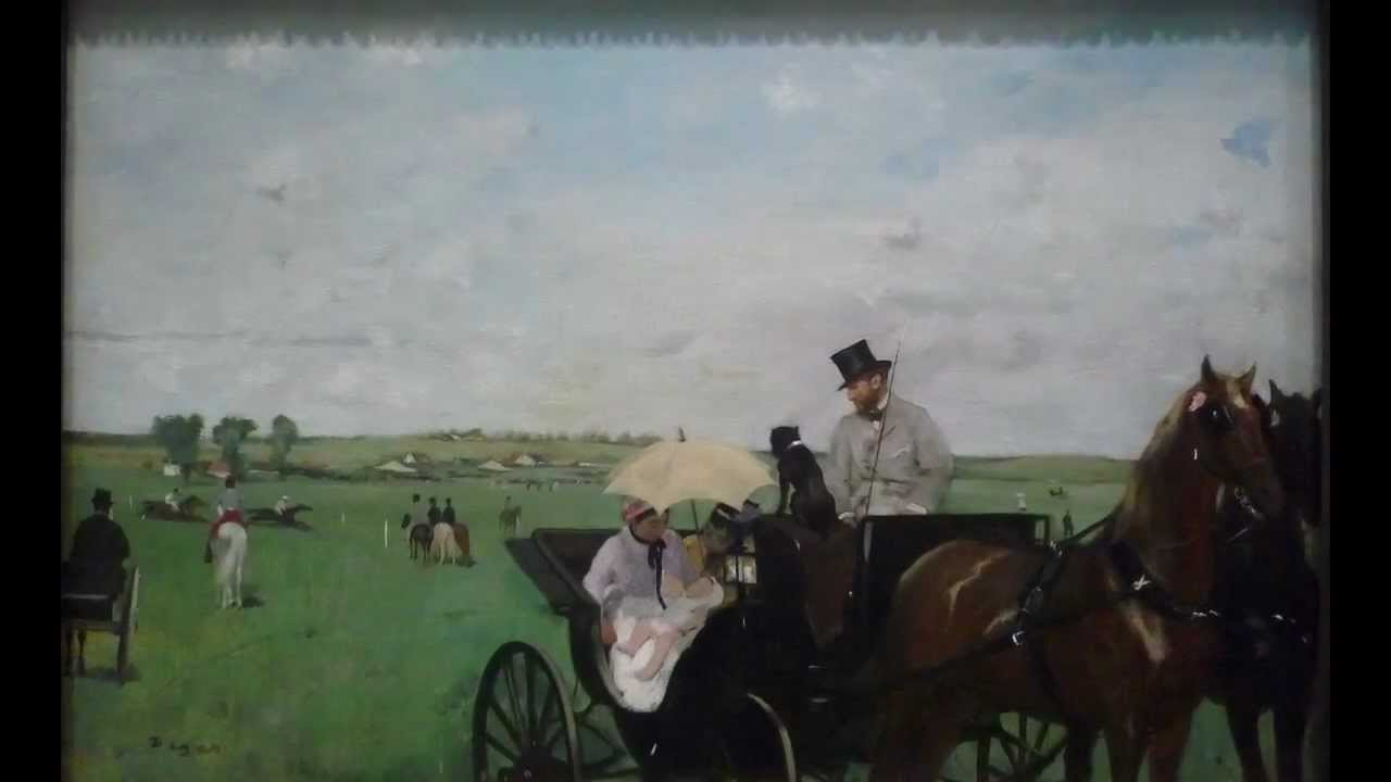 Degas, At the Races in the Countryside