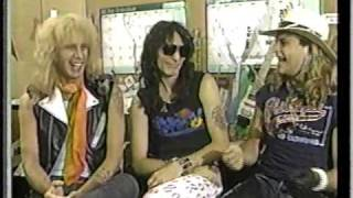 Dlr, vai and billy interview clip on mtv top 20 countdown 1986