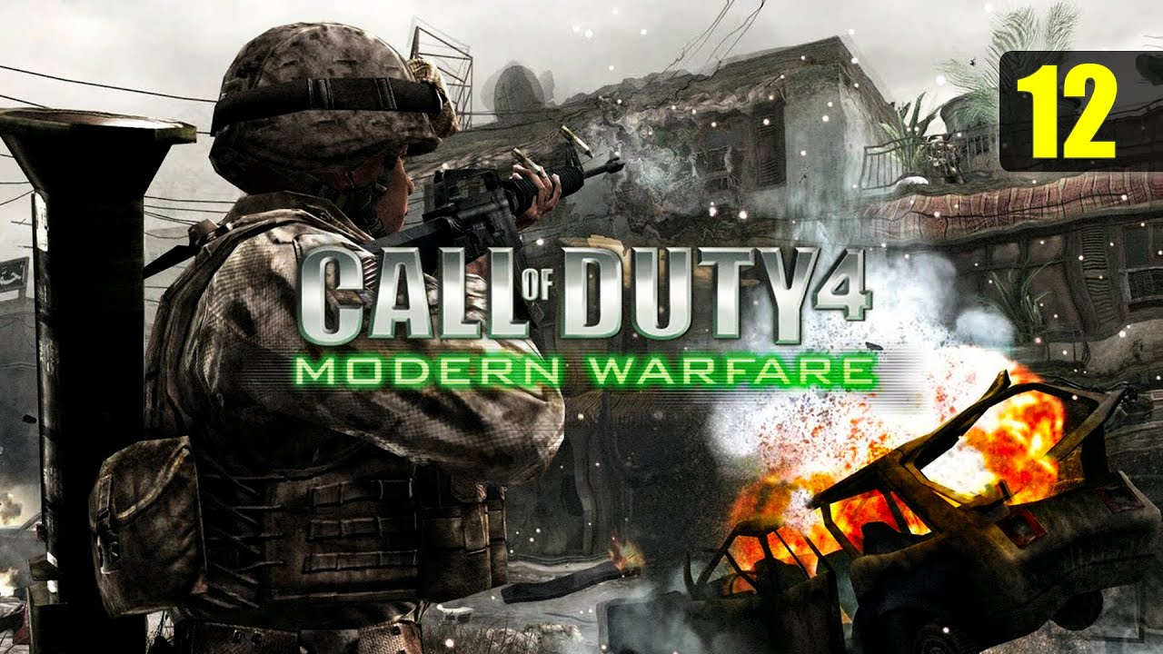 Call Of Duty 4 : Modern Warfare - India - Part - 12