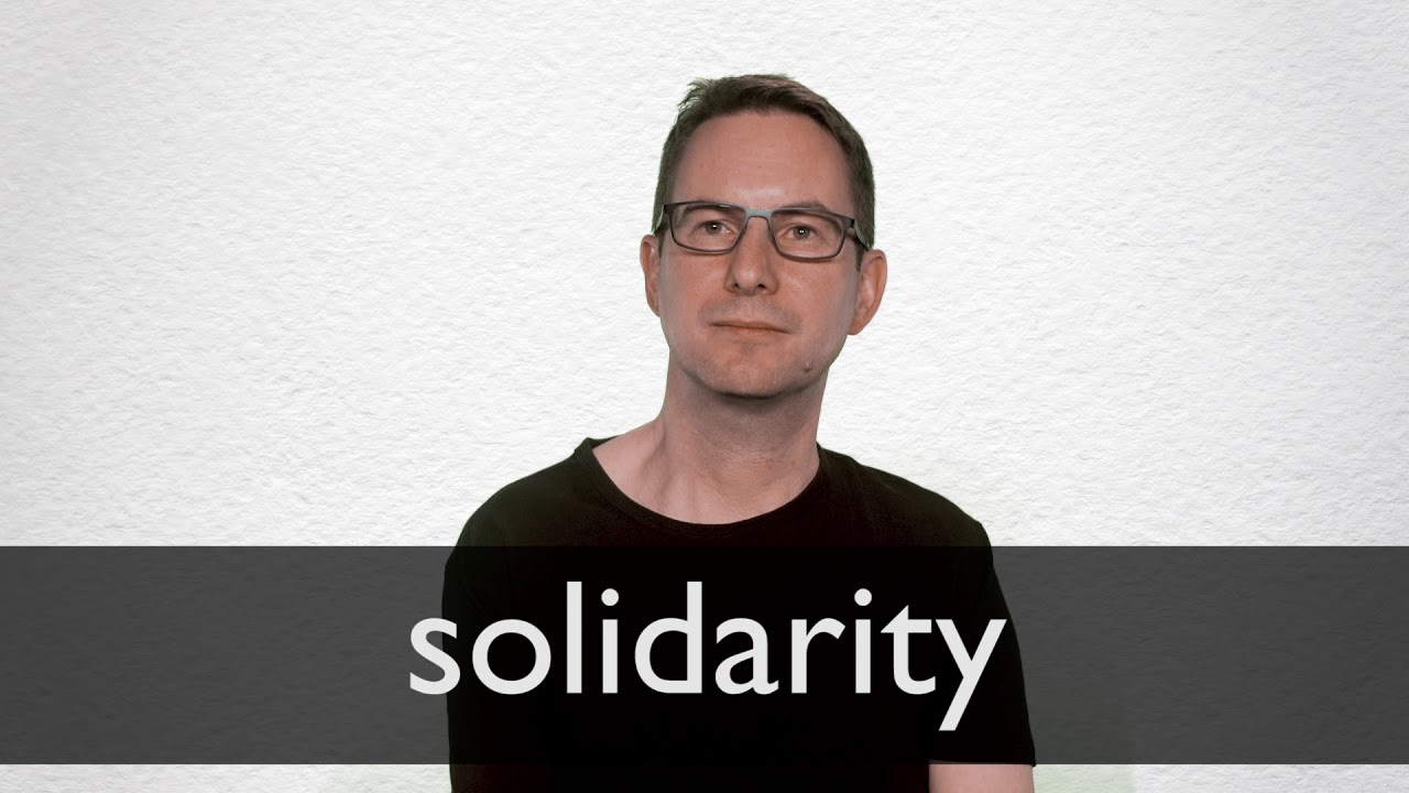 How to pronounce SOLIDARITY in British English
