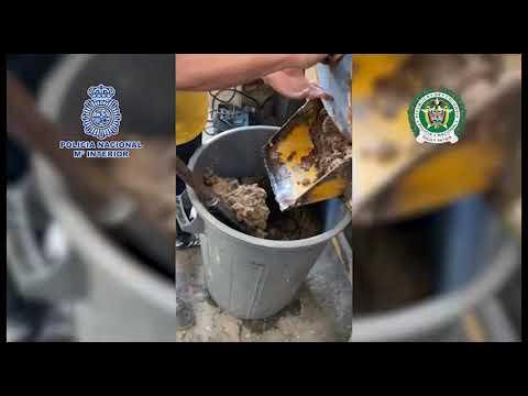 Golpe al narcotráfico: una tonelada de cocaína escondida en cajas de fruta y 18 detenidos