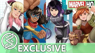 MARVEL RISING BEGINS! | The Next Generation of Marvel Heroes (EXCLUSIVE) thumbnail