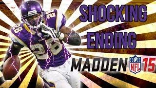 Football-NFL-Madden 15 :: SHOCKING ENDING! :: Vikings Vs. Panthers - Online Gameplay XboxOne