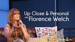 Up Close & Personal with Florence Welch