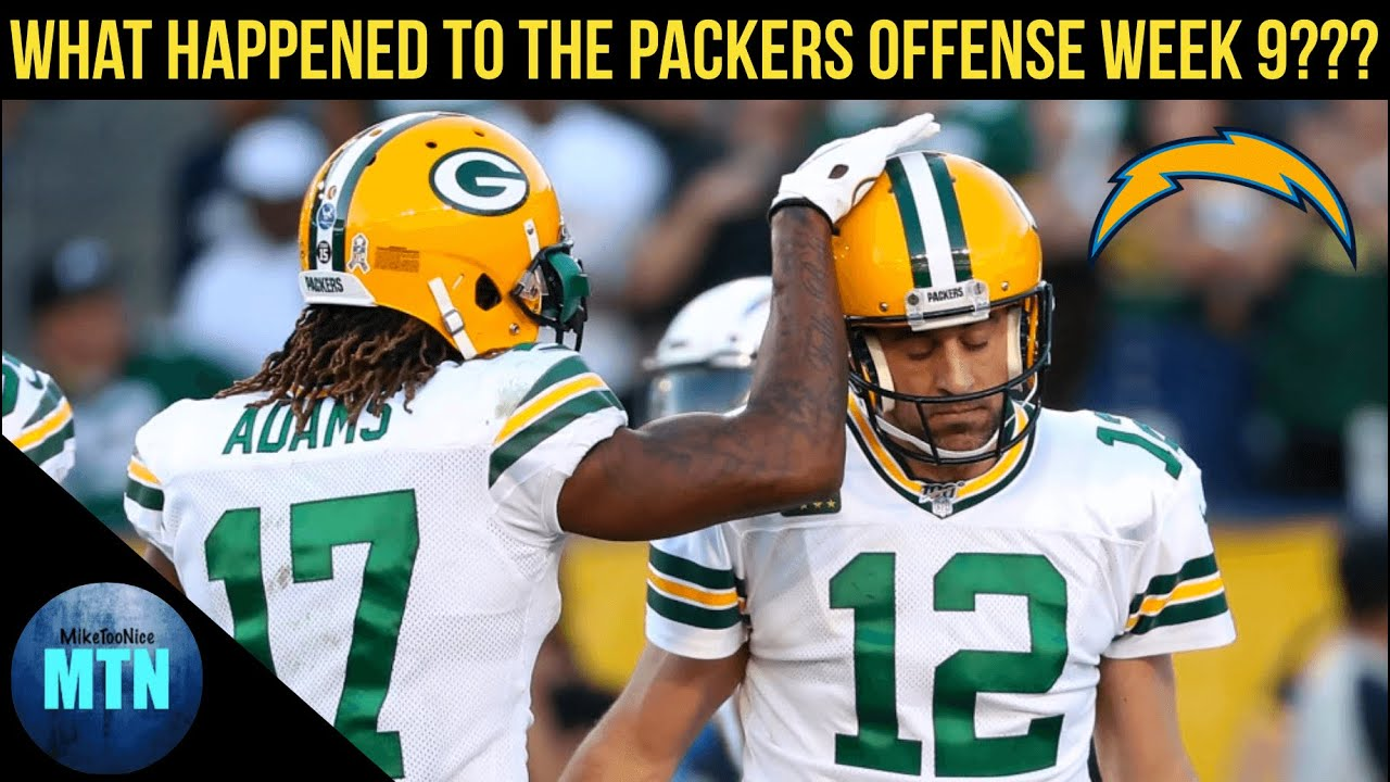 What Went Wrong with the Packers Offense on Sunday???
