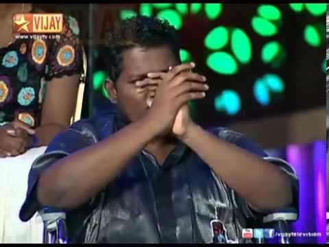 Super Singer   Azhagesan sings Nenjukkul Peidhidum 360p)