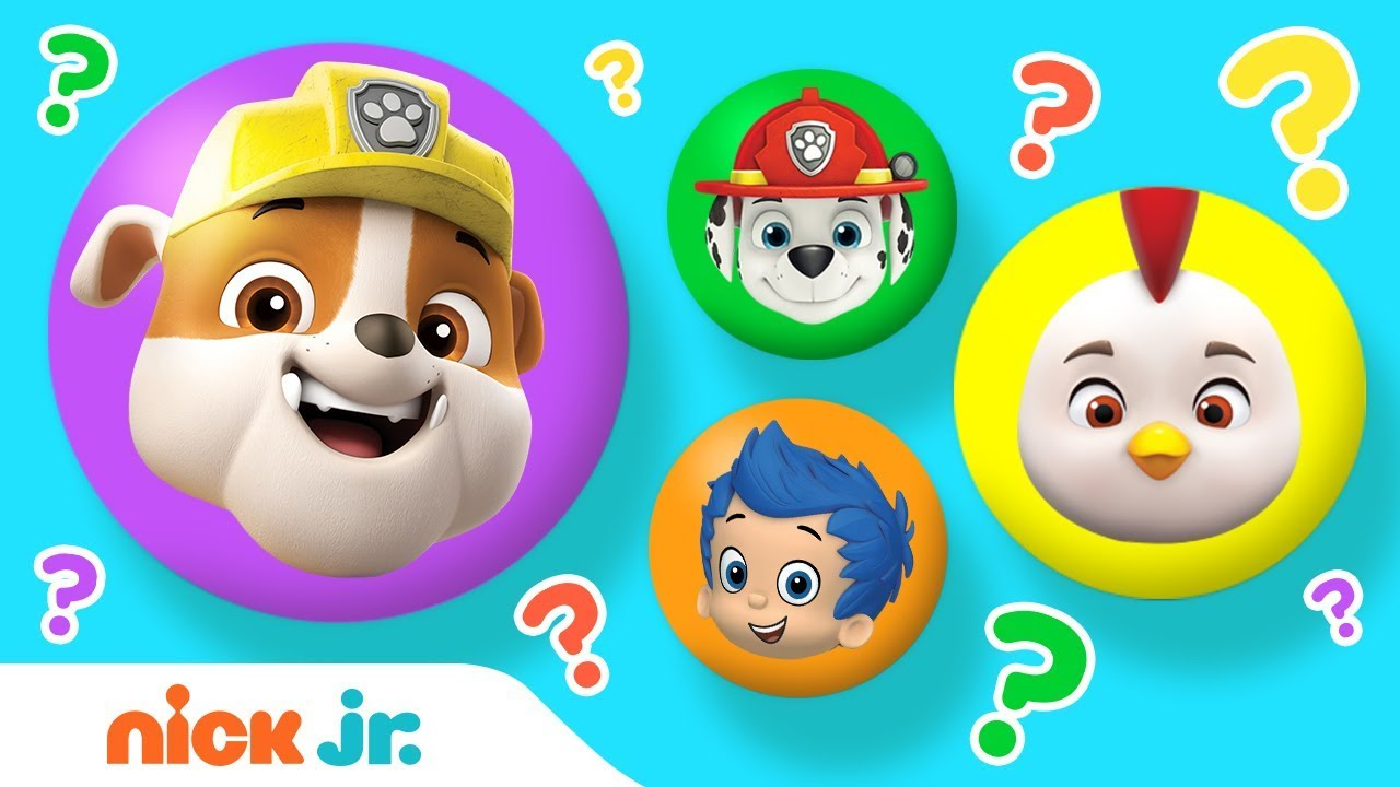Mix-Up Surprises Ep 18 ft  PAW Patrol, Bubble Guppies, Top Wing & More!    Nick Jr