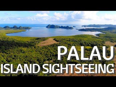 Palau | Drone View | Island Sightseeing | Micronesia