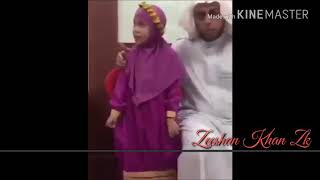 Masha Allah Beautiful voice of a small Girl. Reacting Surah Al~Fatiha