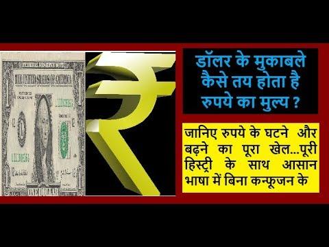 Dollar के मुकाबले कैसे तय होती है रुपये की कीमत...जानिए पूरी हिस्ट्री बेहद आसान भाषा में वो भी हिंदी