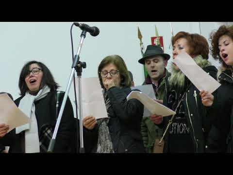 Cantar.os Reis.na junta da Freguesia de Urgezes.2018..