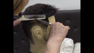 이용사자격증 둥근스포츠 커트 하는법(입문편)  Hair…