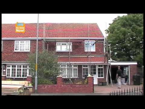 Solar PV Panel Installation in 3 minutes 26 seconds