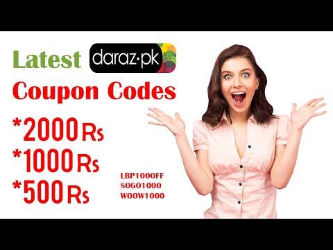Latest Daraz Promo Codes 2020 | Shopping Reviews