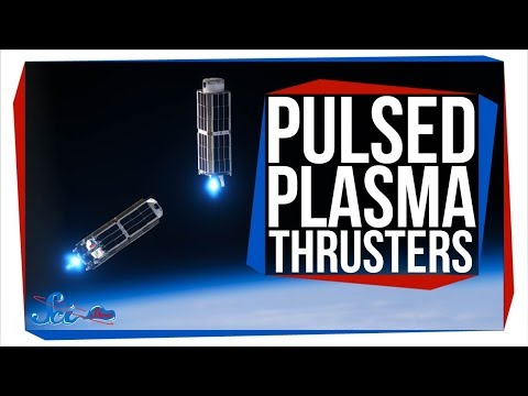 Thrusters That Eat Teflon! | Pulsed Plasma Thrusters