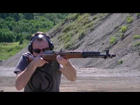 Tokarev SVT-40 Shooting