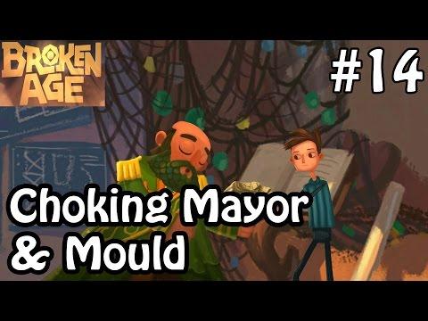 Broken Age Act 2 - Choking Mayor & Mould - Walkthrough Gameplay Part 14