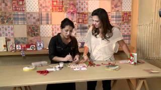 Vida Melhor - Artesanato: Cartão de Natal em Quilling (Taís Santos)