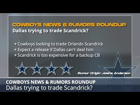 Cowboys Rumors: Latest On Orlando Scandrick Trade, Dez Bryant's Future, And A Corey Coleman Trade