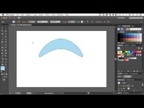 Adobe Illustrator CC Tutorial | Reshaping Objects