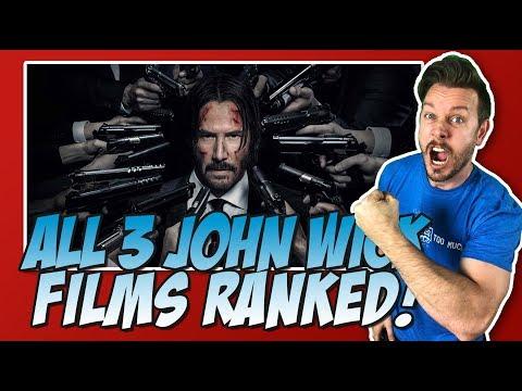 All 3 John Wick Films Ranked!