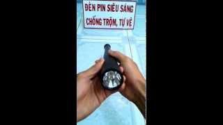 Đèn Pin Tự Vệ Siêu Sáng Gậy Bóng Chày - 0962738673 Denpinsieusang.net.