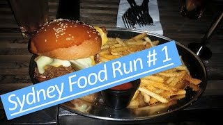 Winnie & Virus Rider || Sydney Food Run #1