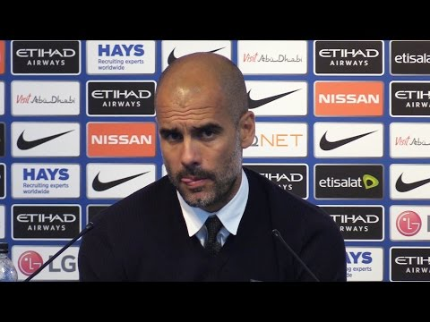 Manchester City 4-0 Bournemouth - Pep Guardiola Post Match Press Conference Embargo Extras