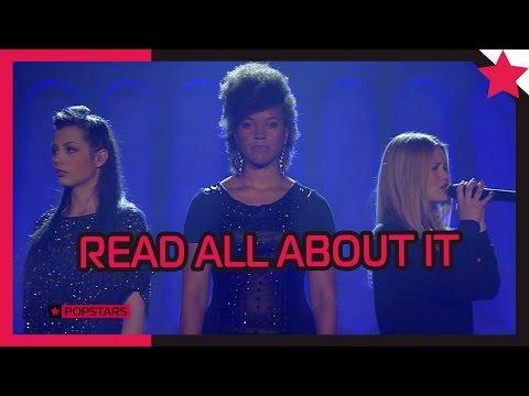 Patricia, Sabrina und Alena: Read All About It von Emeli Sandé - Popstars