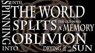 The Avulsion - Once The Sea Has Been Silenced (Official Lyric Video)