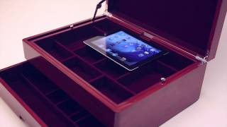 Top Drawer Valet And Charging Station