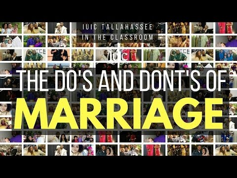 The Israelites: Do's And Dont's Of Marriage