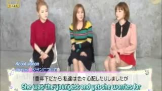 T-ara Eunjung, Hyomin and Areum Talks About Jiyeon
