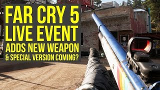 New Far Cry 5 Live Event Adds New Gun With SPECIAL VERSION Coming Later?! (Far Cry 5 Arcade Brunch) thumbnail