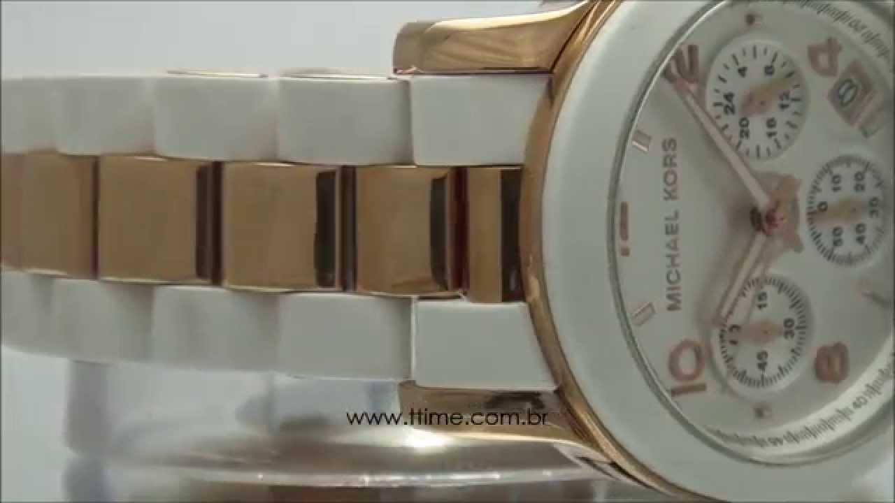 727c622030790 Relógio Michael Kors OMK5464Z - YouTube